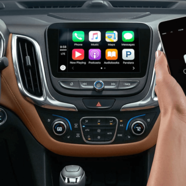 2018 Chevy Equinox Touchscreen