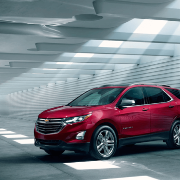 2018 Chevy Equinox Parked