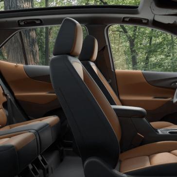 2018 Chevy Equinox Seats