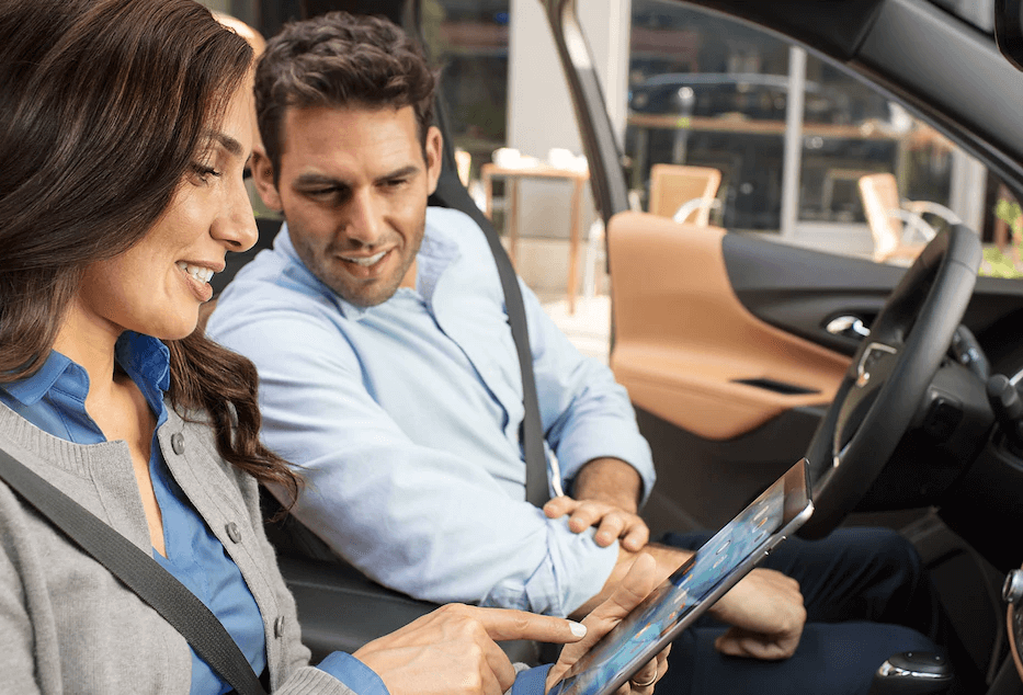 2018 Chevy Equinox Passengers