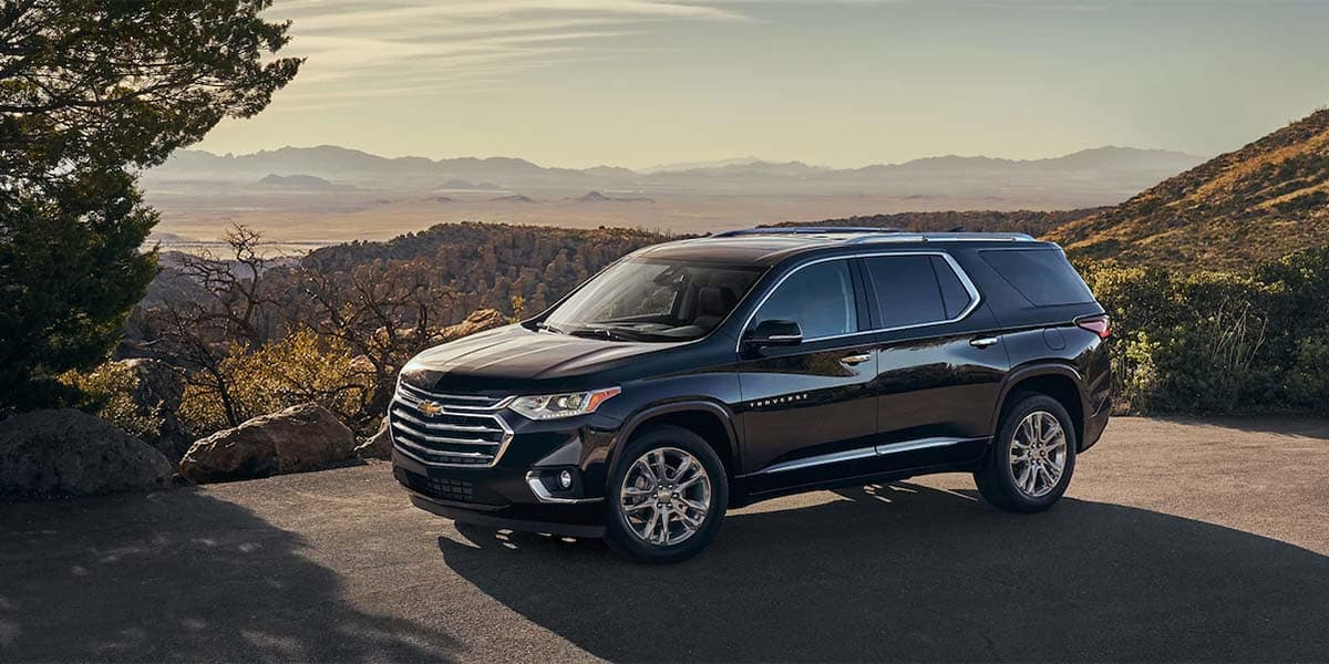 2018 Chevrolet Traverse Parked