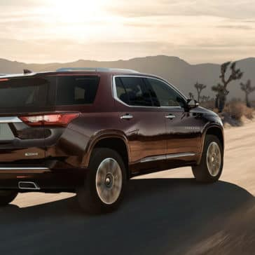 2018 Chevrolet Traverse Rear