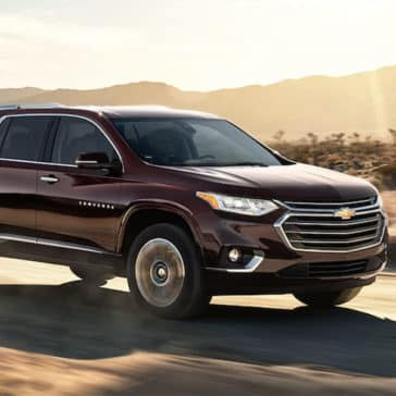 2018 Chevrolet Traverse Driving