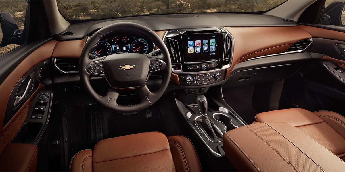 2018 Chevrolet Traverse Dash
