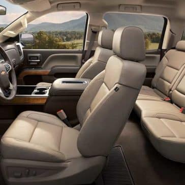 2018 Chevy Silverado Seats