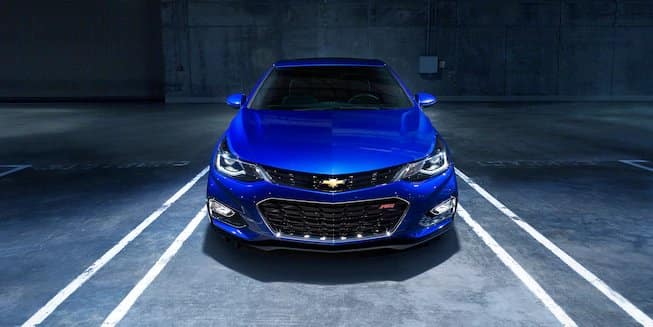2018 Chevy Cruze Blue