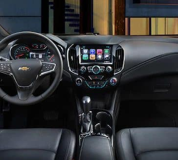 2018 Chevy Cruze Dash