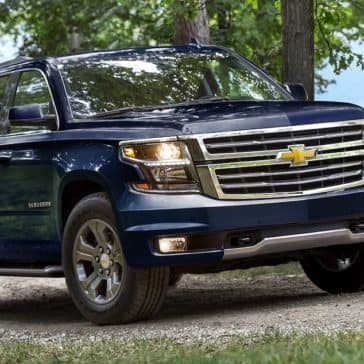 2018 Chevy Suburban Blue