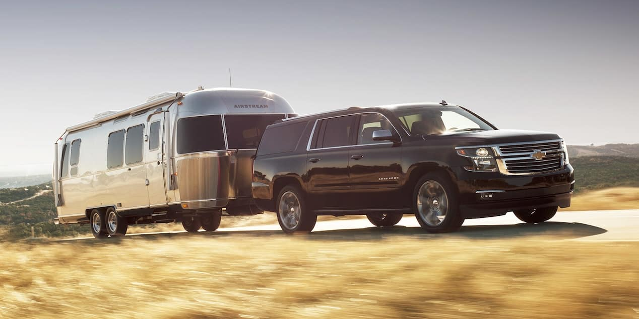 2018 Chevy Suburban Towing
