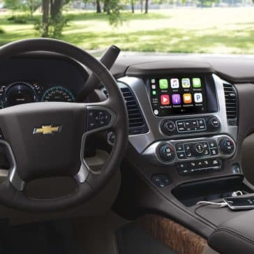 2018 Chevy Suburban Dash