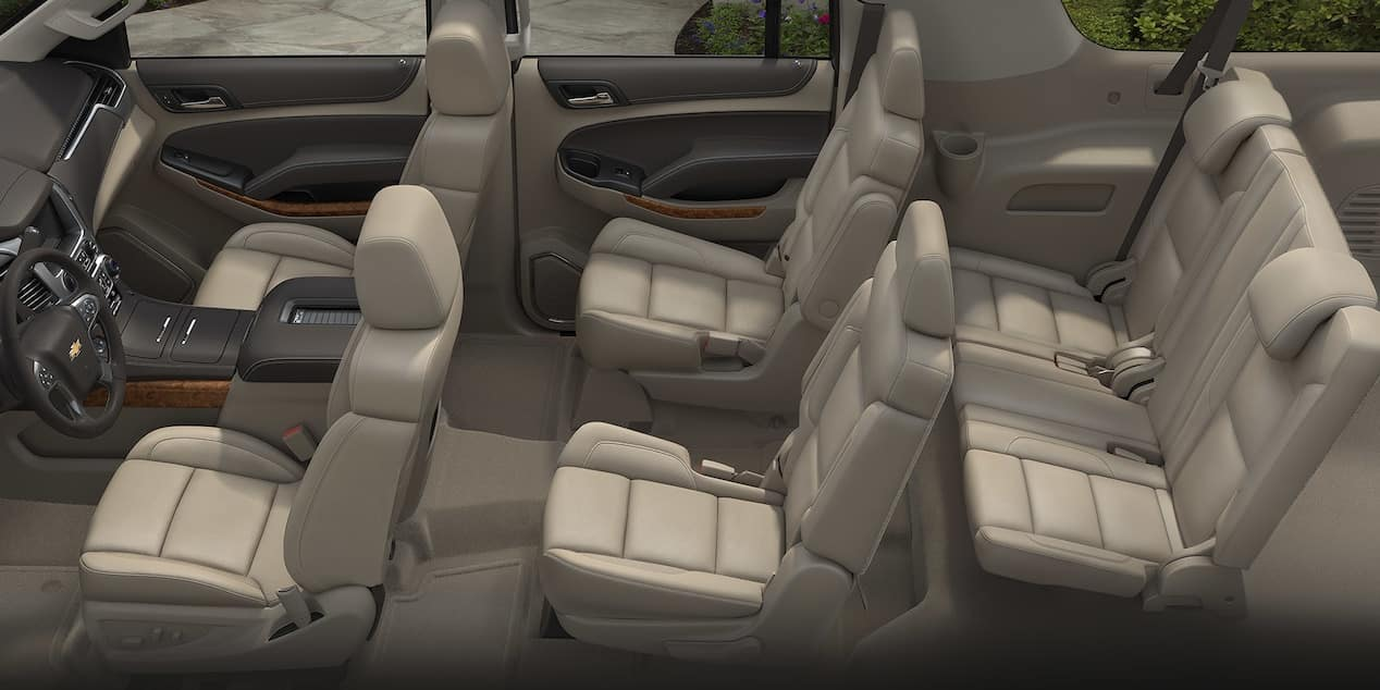2018 Chevy Suburban Seats