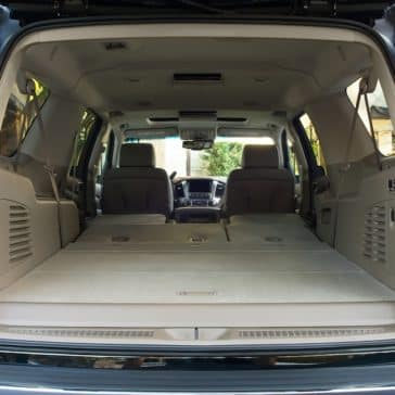 2018 Chevy Suburban Space