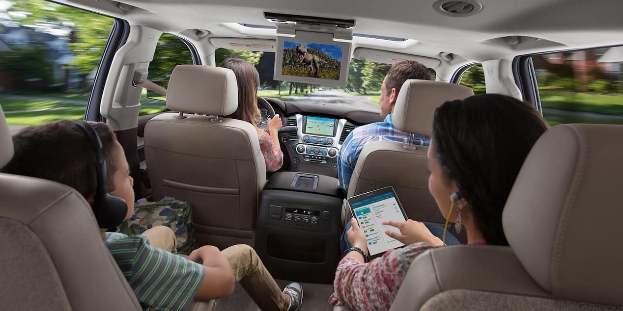 2018 Chevy Suburban Passengers