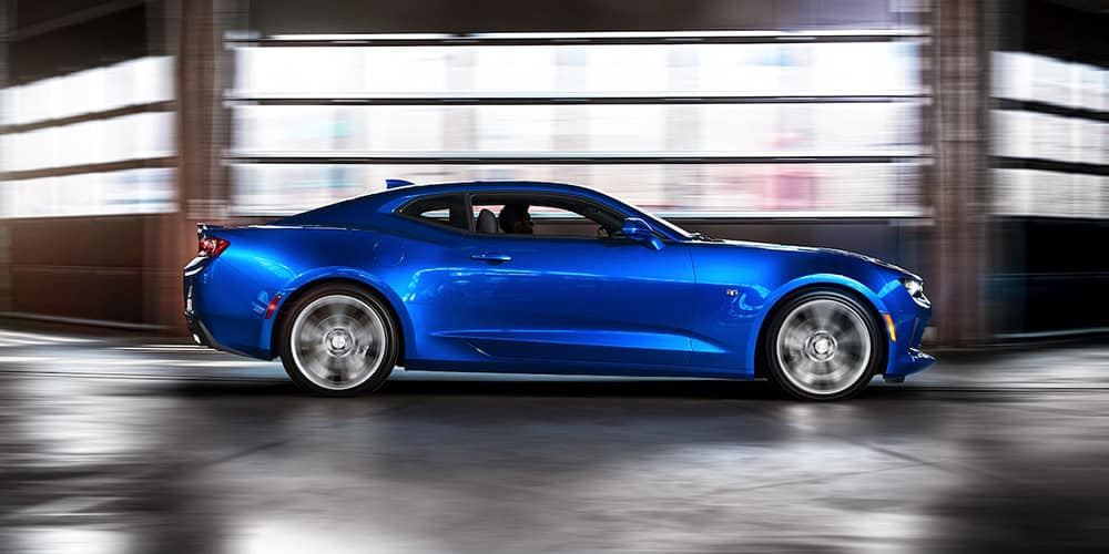2018 Chevy Camaro Blue