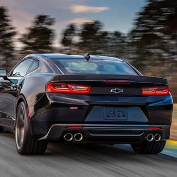2018 Chevy Camaro Rear