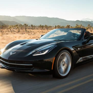2018 Chevy Corvette Driving