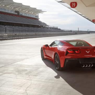 2018 Chevy Corvette Track