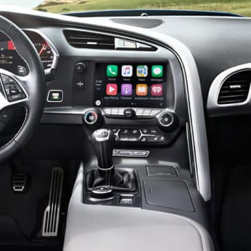 2018 Chevy Corvette Dash