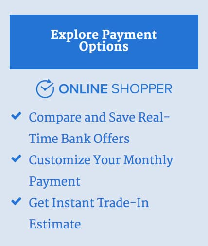 Online Shopper Button with Stingray Chevrolet