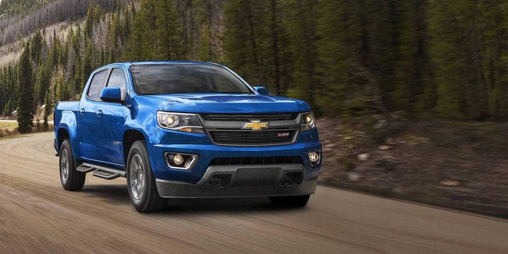 2018 Chevy Colorado Driving