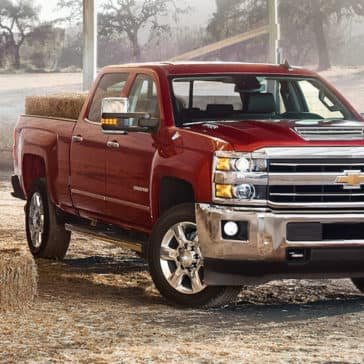 2018 Chevy Silverado 2500HD Red