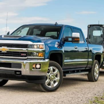 2018 Chevy Silverado 2500HD Towing