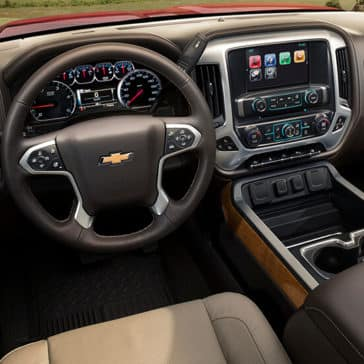 2018 Chevy Silverado 2500HD Dash