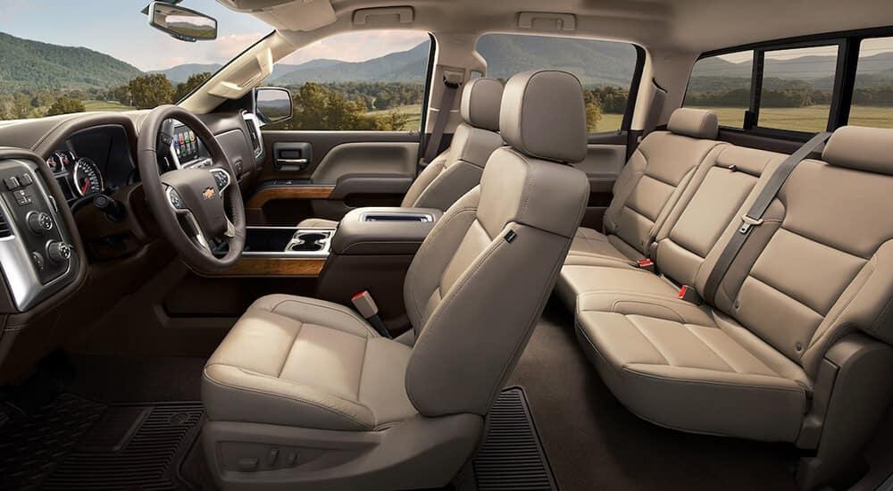 2018 Chevy Silverado 2500HD Seats