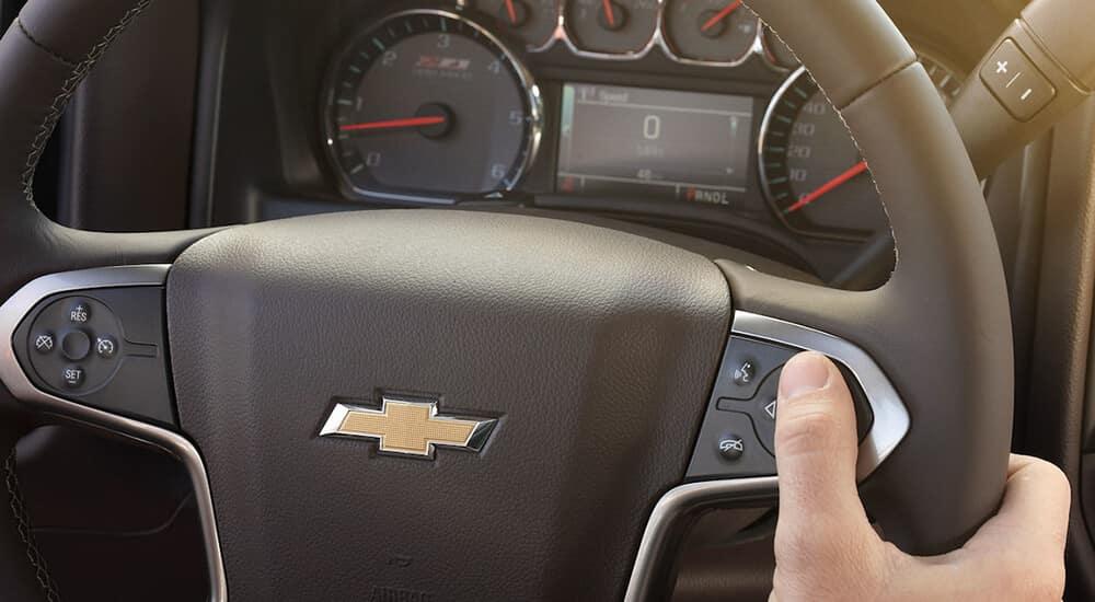 2018 Chevy Silverado 2500HD Steering Wheel