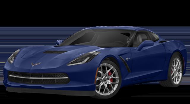 2018 Chevy Corvette Stingray Blue