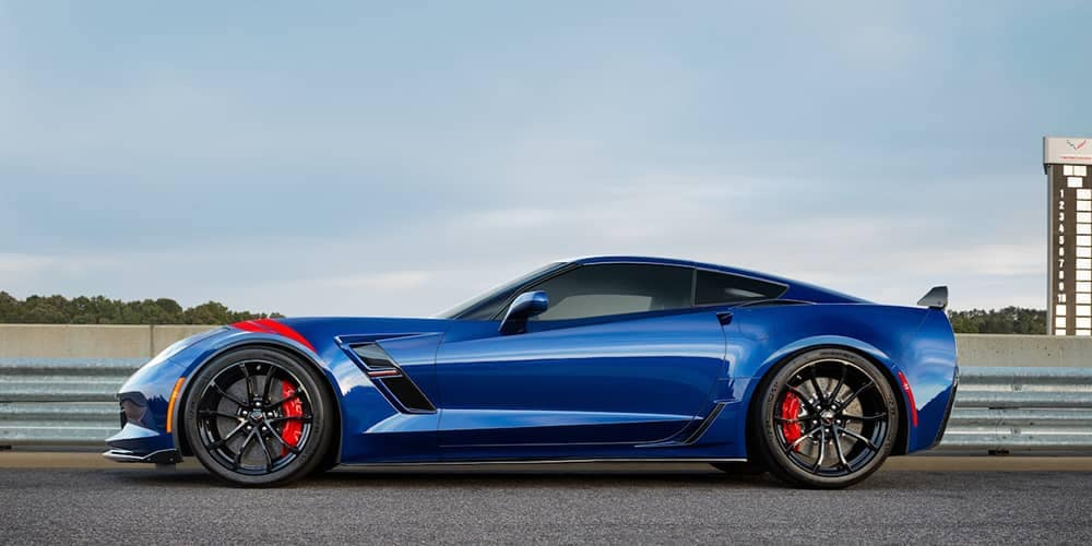 2018 Corvette Grand Sport Blue