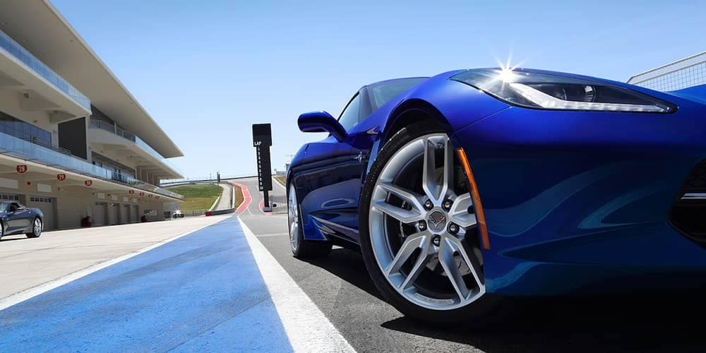 2018 Corvette Stingray Blue
