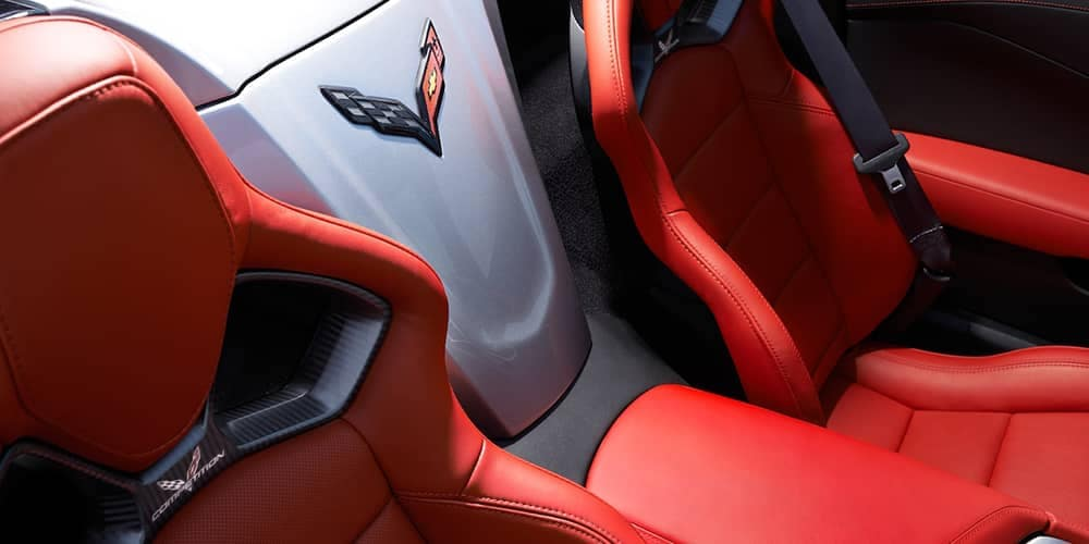 2019 Chevy Corvette Grand Sport Seats