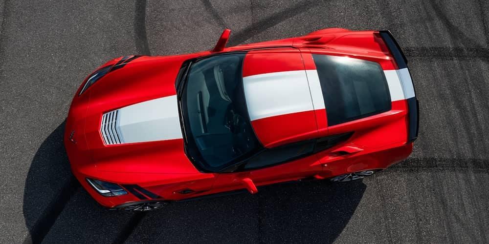 2019 Chevy Corvette Grand Sport Red
