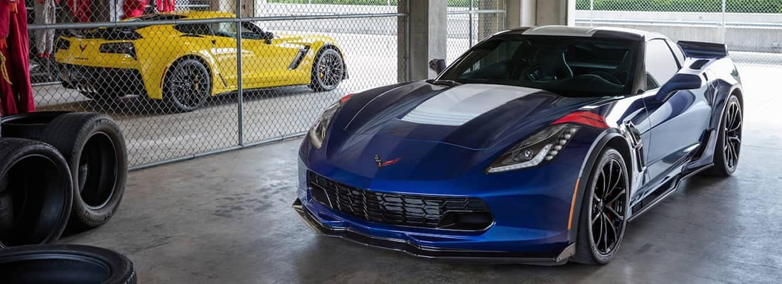 2018 Chevy Corvette Pair