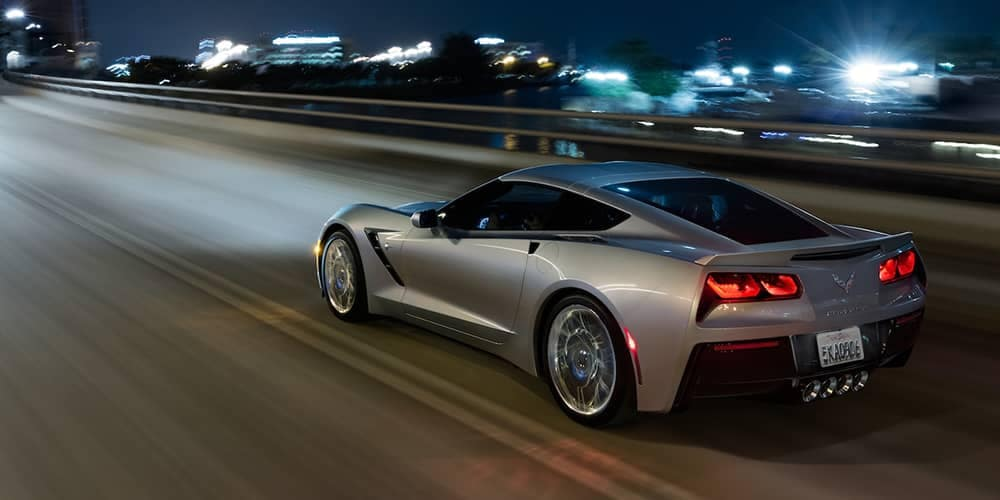 2019 Chevy Corvette Stingray Driving