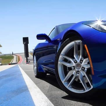 2019 Chevy Corvette Stingray Blue