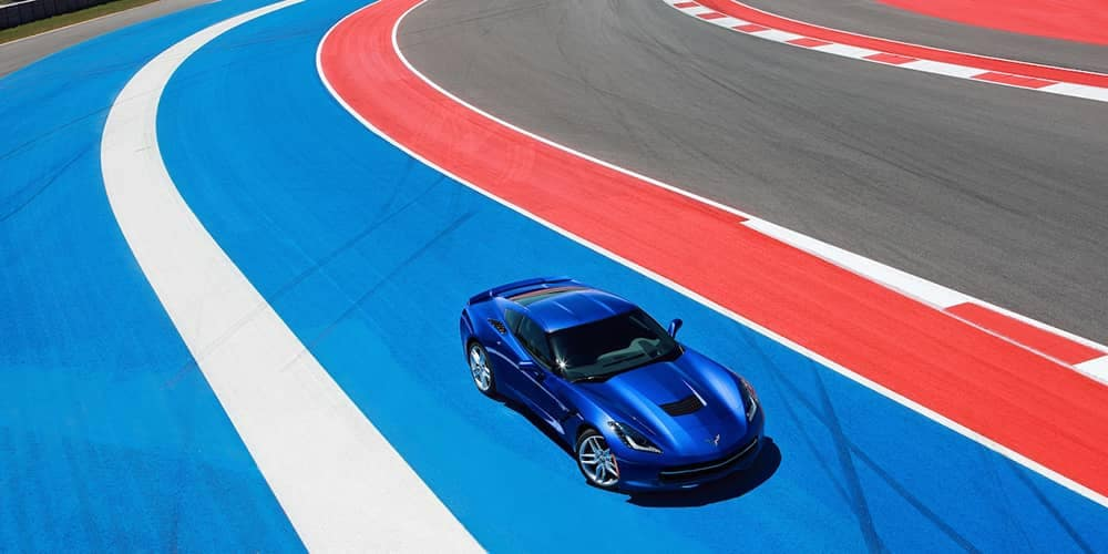 2019 Chevy Corvette Stingray On Track