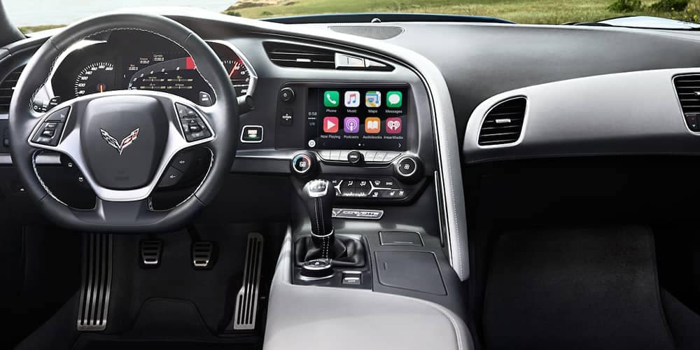 2019 Chevy Corvette Stingray Dash