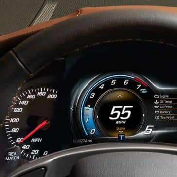 2019 Chevy Corvette Stingray Instrument Panel