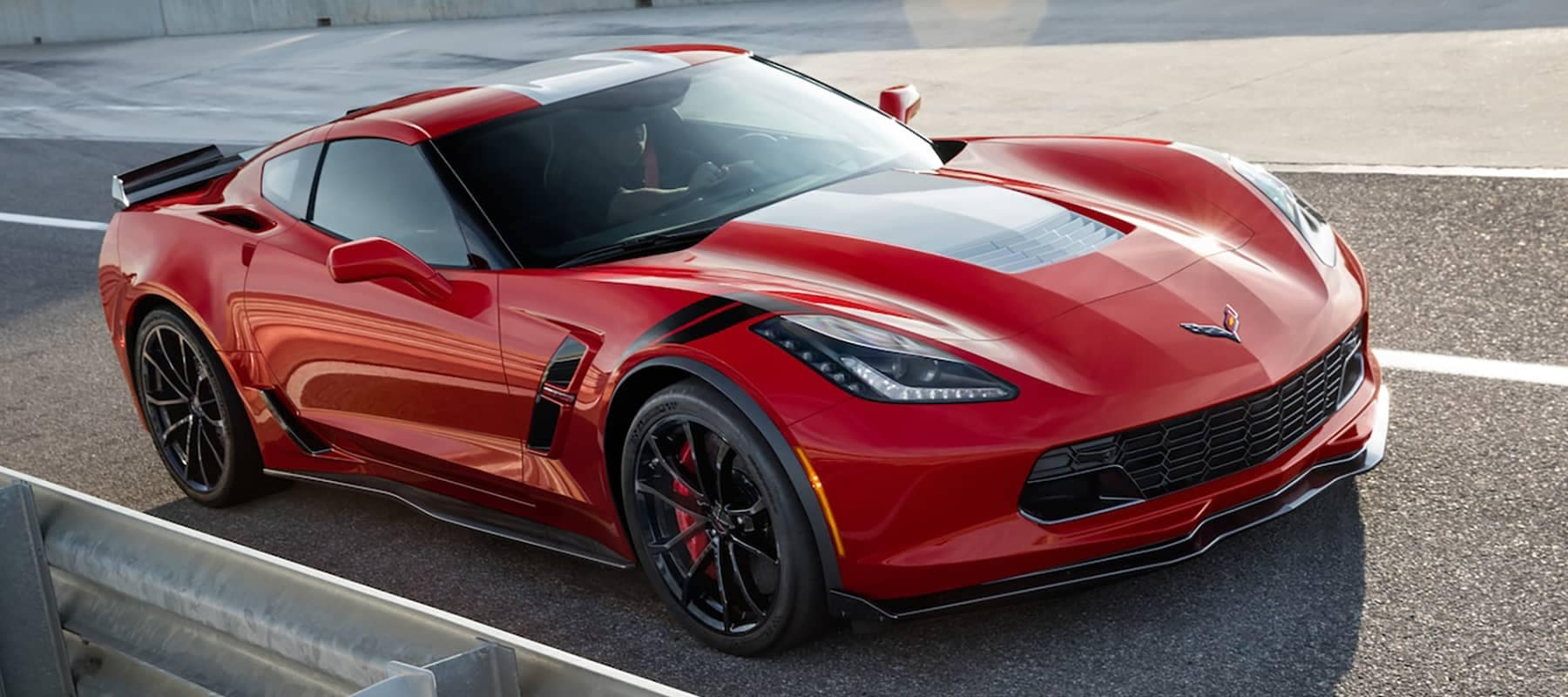 2019 Chevy Corvette Grand Sport On the Track