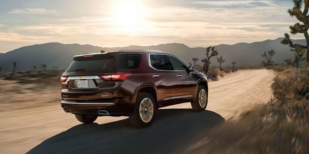 2018 Chevy Traverse Rear