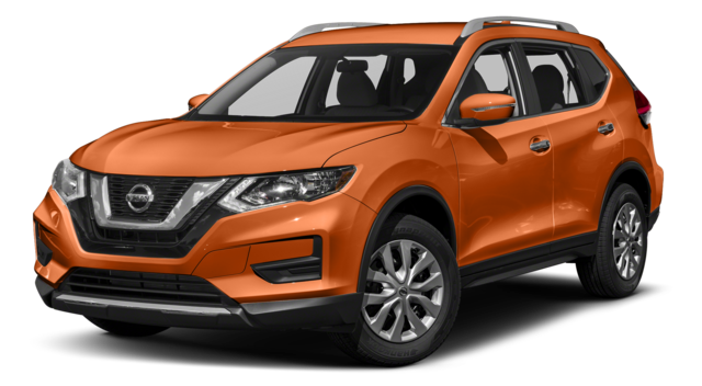 2018 Nissan Rogue Orange