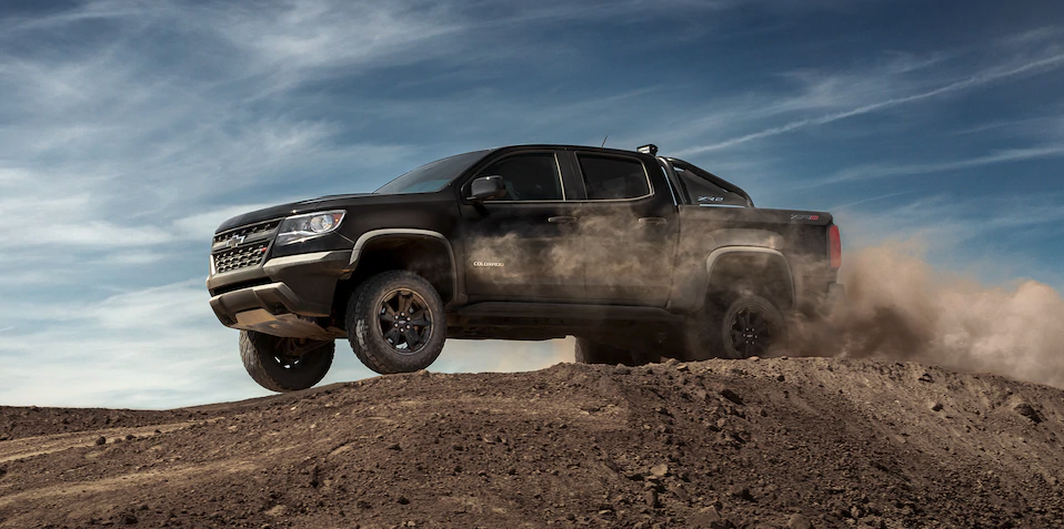 2019 Chevrolet Colorado dirt