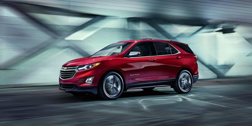 2019 Chevrolet Equinox Red