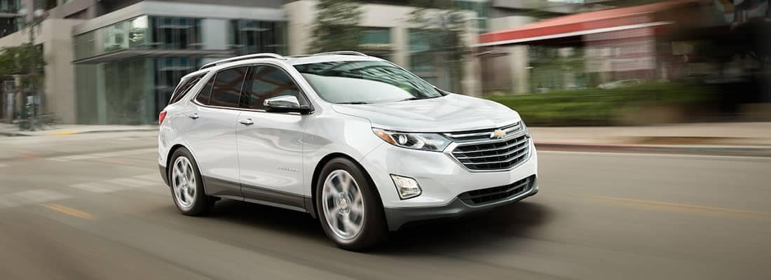 2019 Chevy Equinox Driving