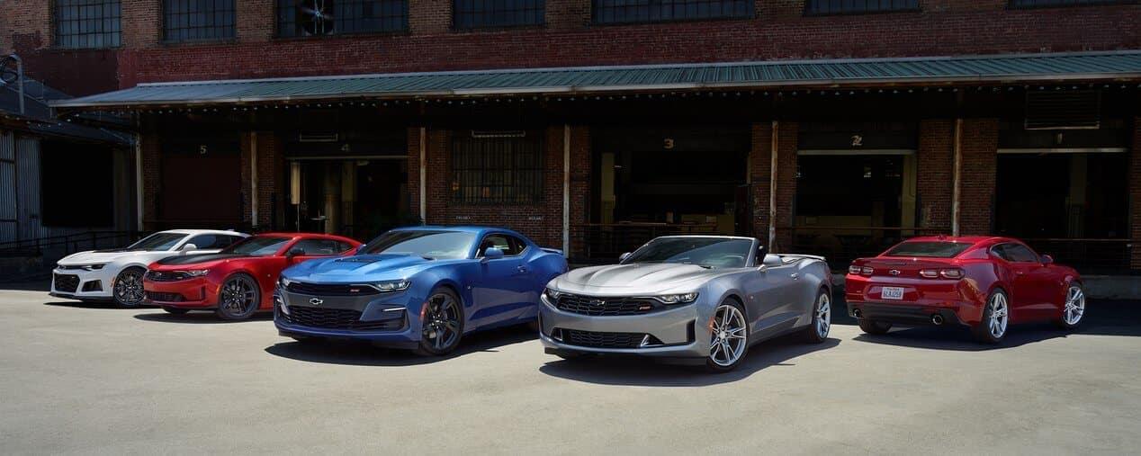 2019 Chevrolet Camaro row of vehicles