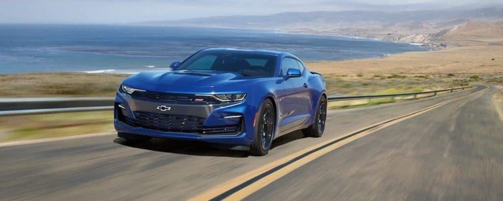 Blue 2019 Chevrolet Camaro