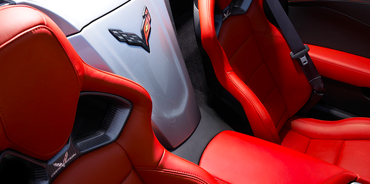 2019 Chevrolet Stingray interior seating