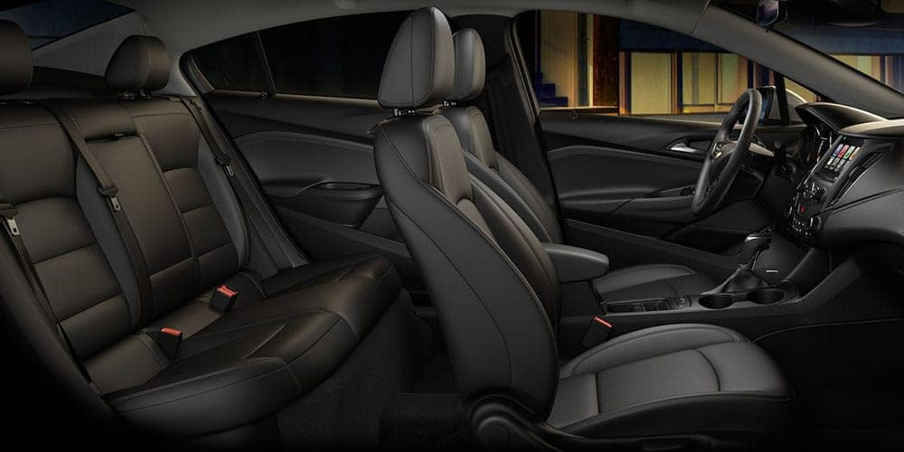 Chevy Interior - Black Leather